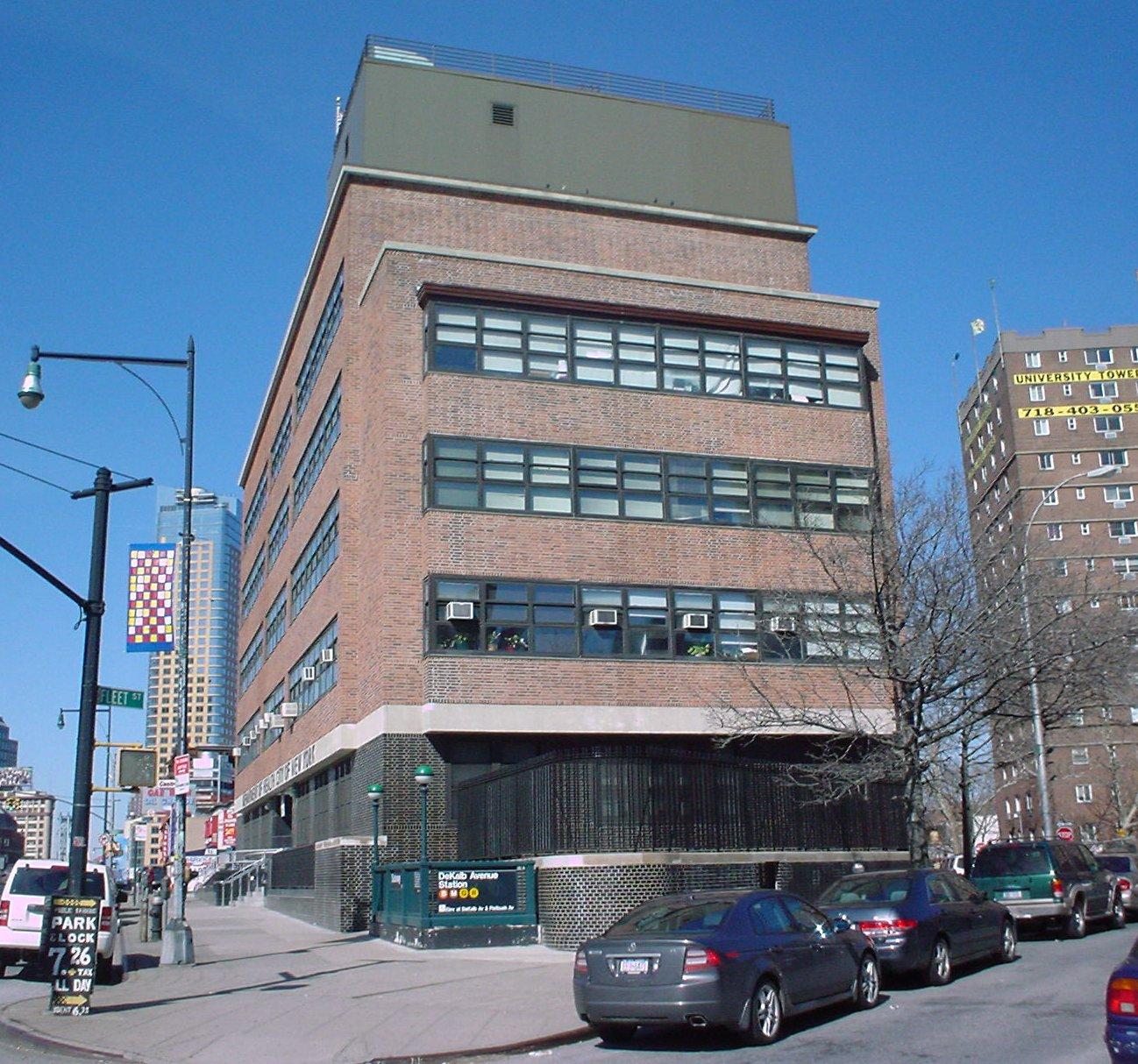 New Deal-era building